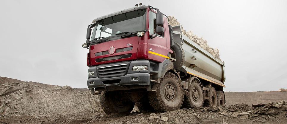 taz MINING   TATRA for the mining industry